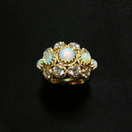 DECORATIVE OPAL RING