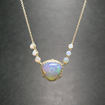 DECORATIVE OPAL PENDANT