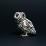 OWL BROOCH 2